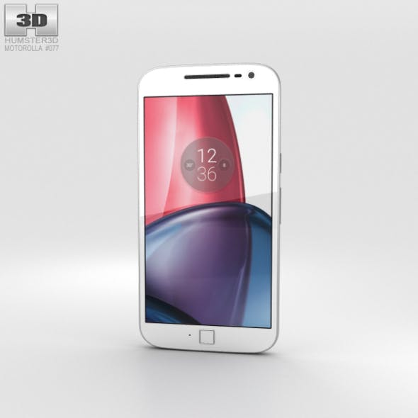 Motorola Moto G4 Plus White - 3DOcean Item for Sale