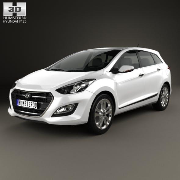 Hyundai i30 (Elantra) wagon 2015 - 3DOcean Item for Sale