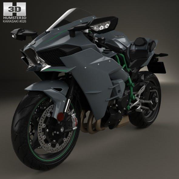 Kawasaki Ninja H2 2015 - 3DOcean Item for Sale