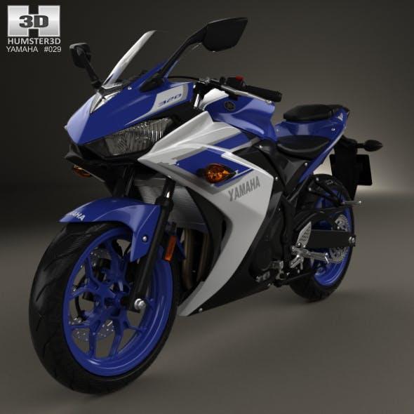 Yamaha YZF-R3 2015 - 3DOcean Item for Sale