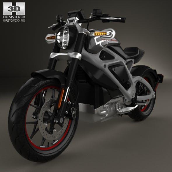 Harley-Davidson LiveWire 2014 - 3DOcean Item for Sale