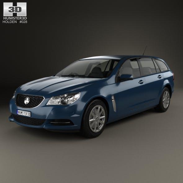 Holden Commodore Evoke sportwagon 2013 - 3DOcean Item for Sale