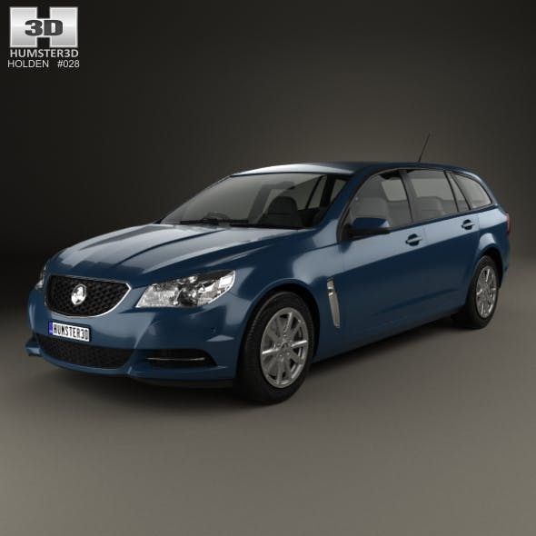 Holden Commodore Evoke sportwagon 2013