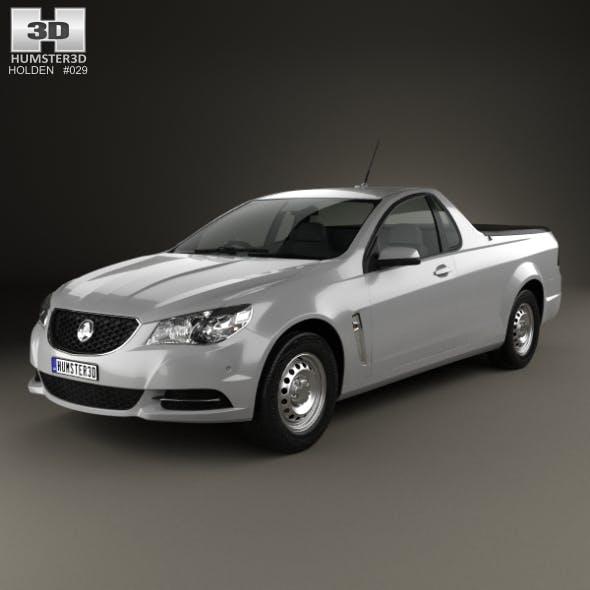 Holden Commodore Evoke ute 2013 - 3DOcean Item for Sale