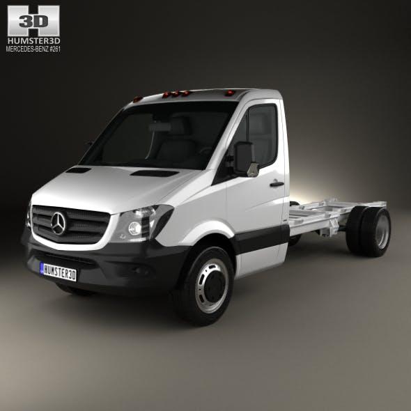 Mercedes-Benz Sprinter Single Cab Chassis LWB 2013