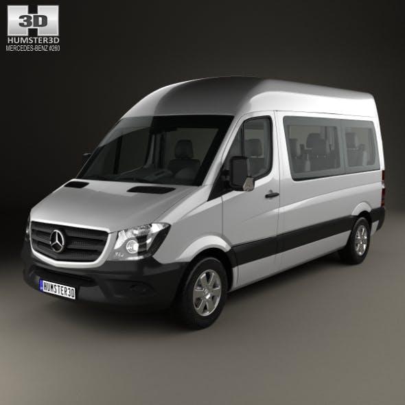 Mercedes-Benz Sprinter Passenger Van SWB HR with HQ interior 2013
