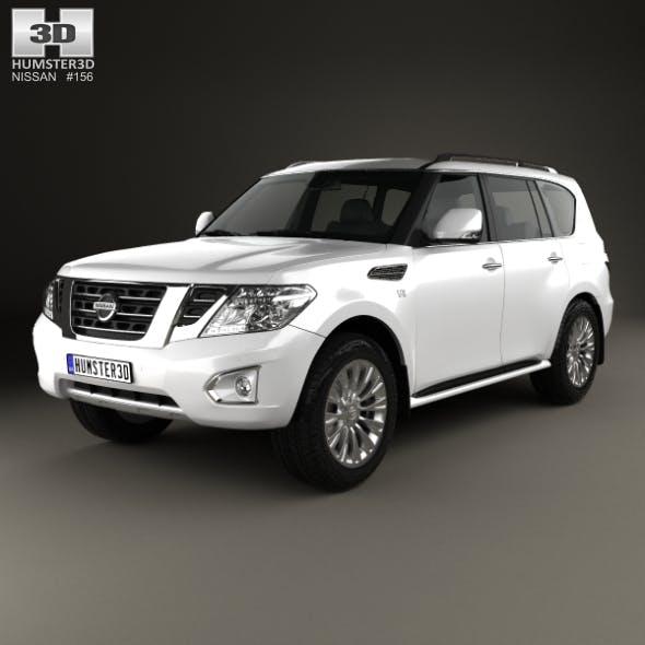 Nissan Patrol (CIS) 2014 - 3DOcean Item for Sale