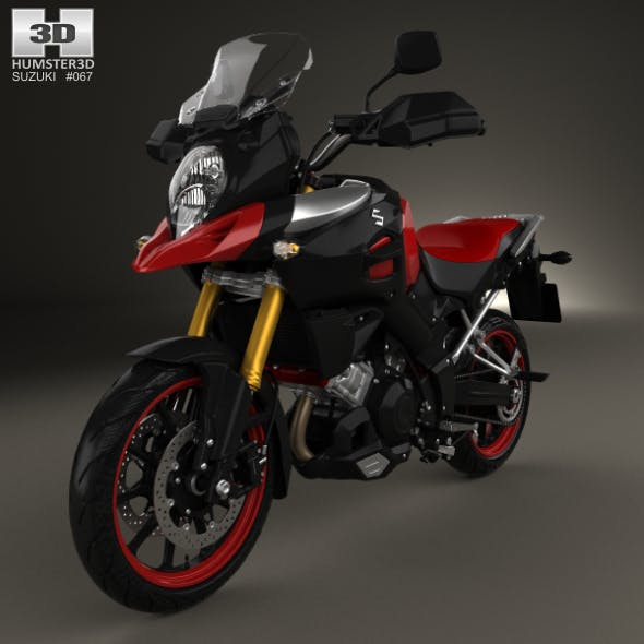 Suzuki V-Strom 1000 2013 - 3DOcean Item for Sale