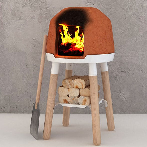 Bread from Scratch - Personal Little Bread Clay Oven - 3DOcean Item for Sale