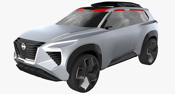 Nissan Xmotion Concept - 3DOcean Item for Sale