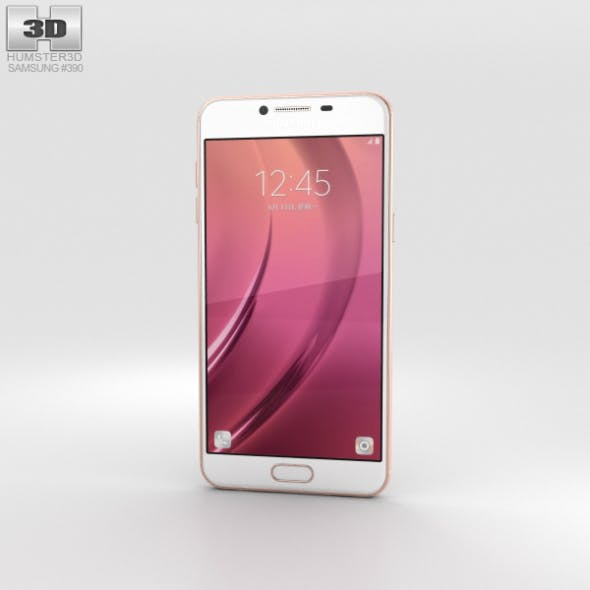 Samsung Galaxy C5 Rose Gold - 3DOcean Item for Sale