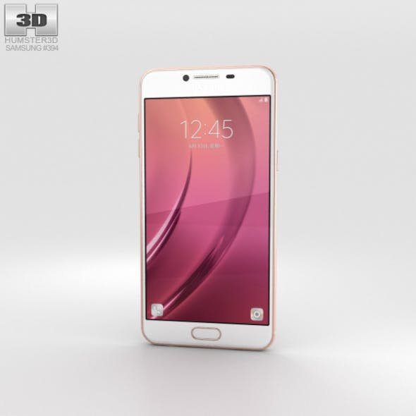 Samsung Galaxy C7 Rose Gold - 3DOcean Item for Sale