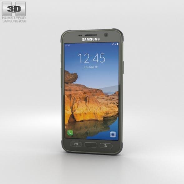Samsung Galaxy S7 Active Camo Green - 3DOcean Item for Sale