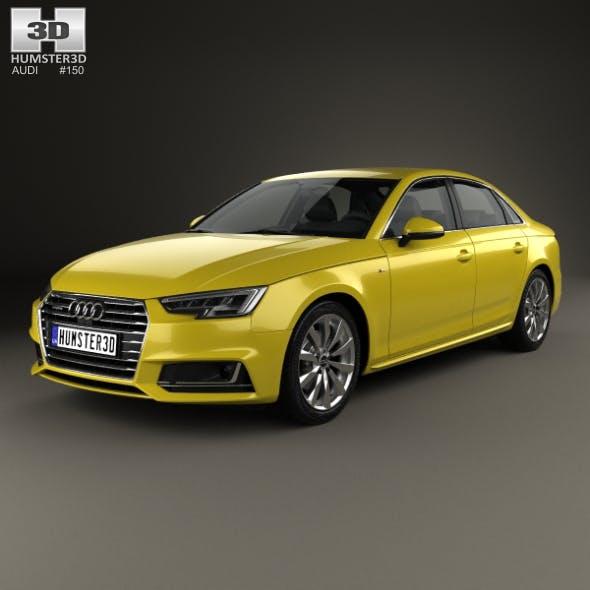 Audi A4 S-Line 2016