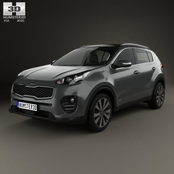 Kia Sportage 2016 - 3DOcean Item for Sale