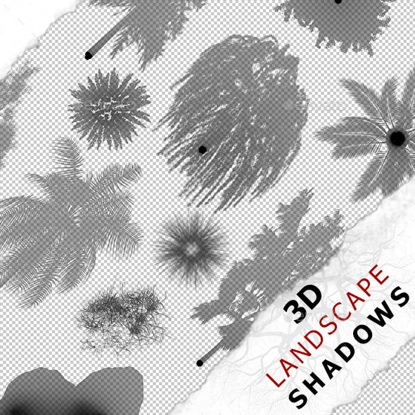 3D Shadow - Grass 06