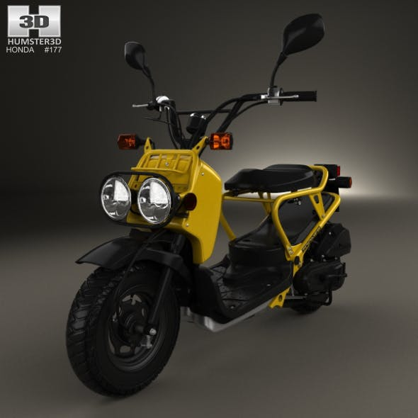 Honda NPS50 Zoomer (Ruckus) 2005 - 3DOcean Item for Sale