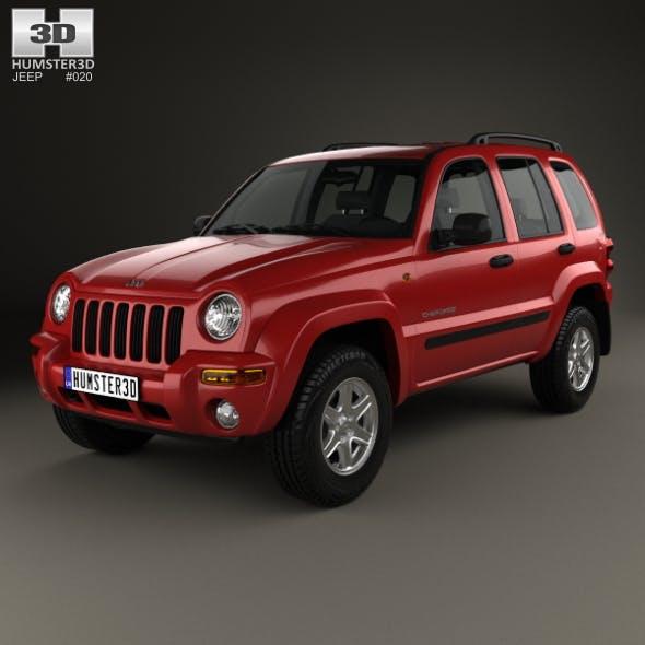 Jeep Cherokee KJ 2002 - 3DOcean Item for Sale