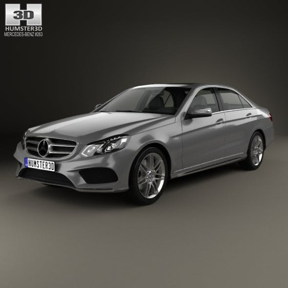Mercedes-Benz E-Class (W212) AMG Sports Package 2013 - 3DOcean Item for Sale