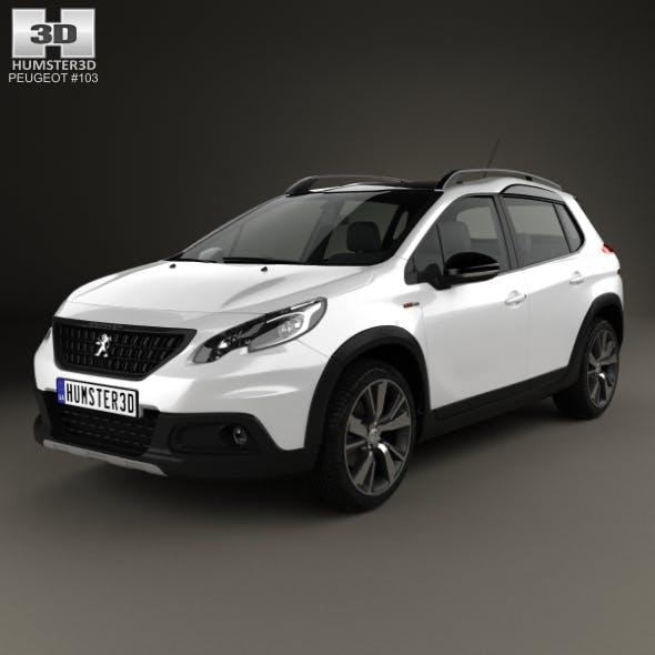 Peugeot 2008 GT Line 2017 - 3DOcean Item for Sale