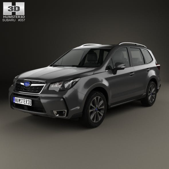 Subaru Forester XT Touring 2016 - 3DOcean Item for Sale