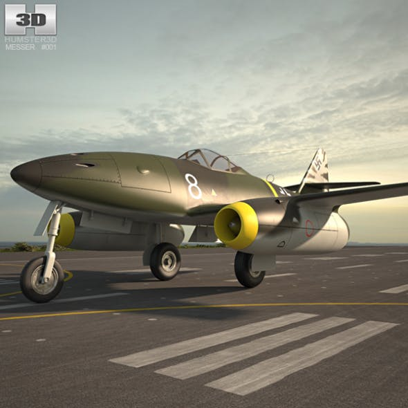 Messerschmitt Me 262 - 3DOcean Item for Sale