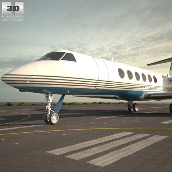 Gulfstream V - 3DOcean Item for Sale