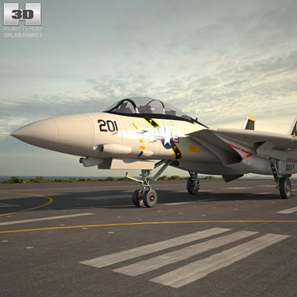 Grumman F-14 Tomcat - 3DOcean Item for Sale