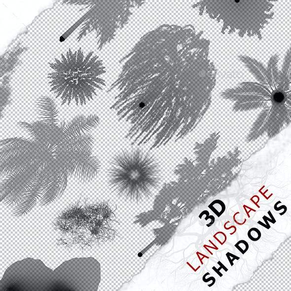 3D Shadow - Rock 06