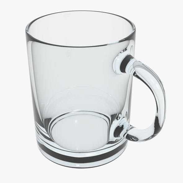 Glass Cup - 3DOcean Item for Sale