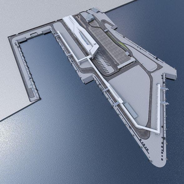 Port Terminal - 3DOcean Item for Sale