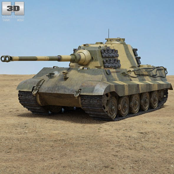 Tiger II - 3DOcean Item for Sale