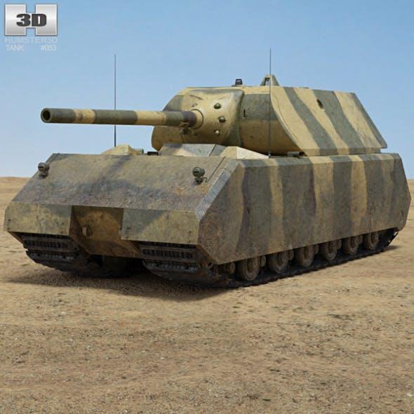 Panzer VIII Maus - 3DOcean Item for Sale