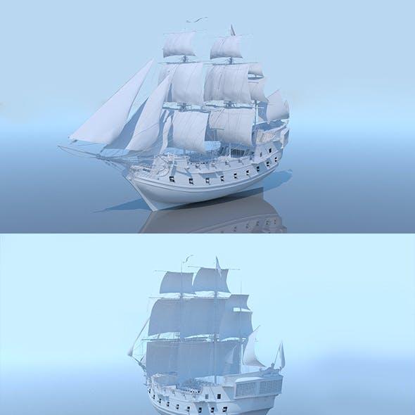 Galeon ship