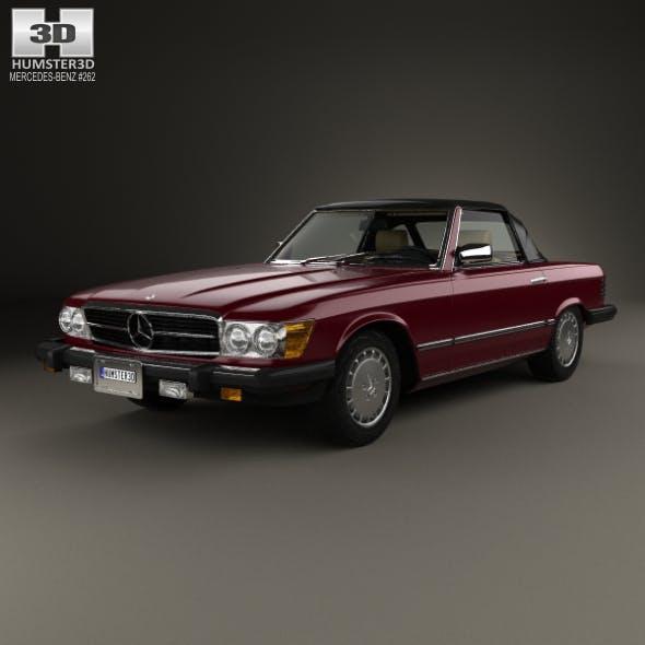 Mercedes-Benz SL-Class (R107) (US) 1974