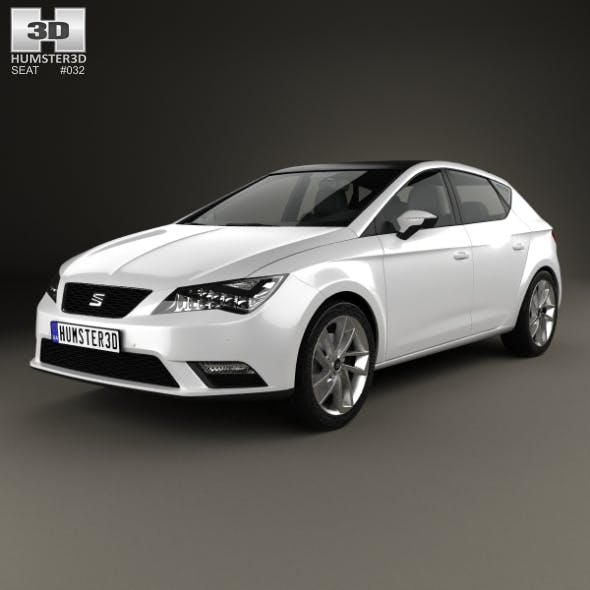 Seat Leon 2012 - 3DOcean Item for Sale