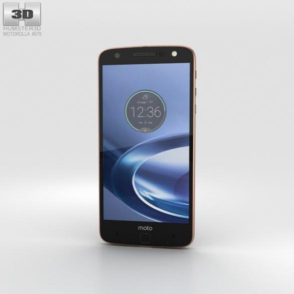 Motorola Moto Z Force Black Rose Gold - 3DOcean Item for Sale