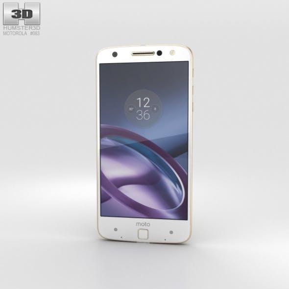 Motorola Moto Z Fine Gold - 3DOcean Item for Sale