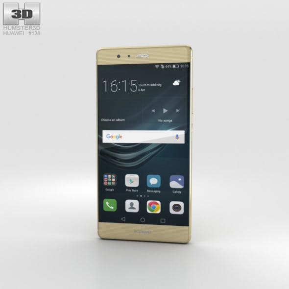 Huawei P9 Plus Haze Gold - 3DOcean Item for Sale