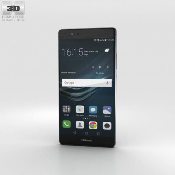 Huawei P9 Plus Quartz Grey - 3DOcean Item for Sale