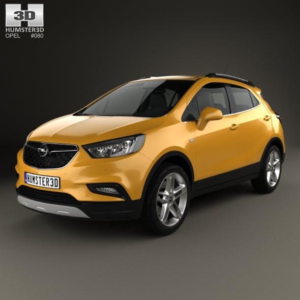 Opel Mokka X 2017 - 3DOcean Item for Sale