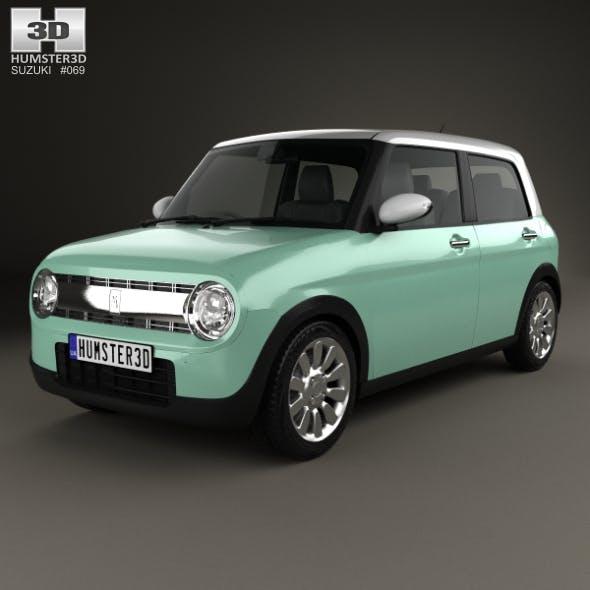 Suzuki Alto Lapin 2015 - 3DOcean Item for Sale