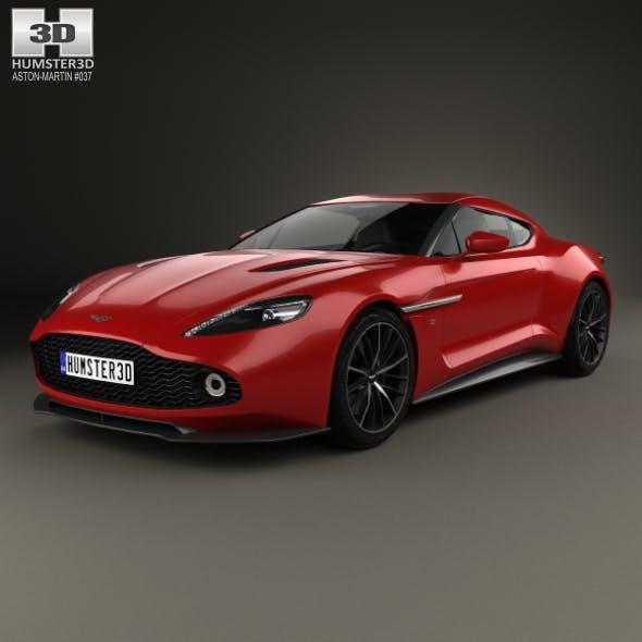 Aston Martin Vanquish Zagato 2016 - 3DOcean Item for Sale