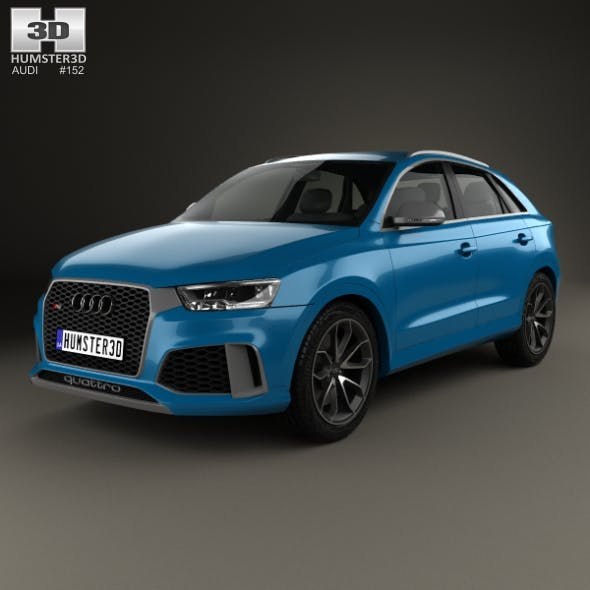 Audi RS Q3 Performance 2017 - 3DOcean Item for Sale