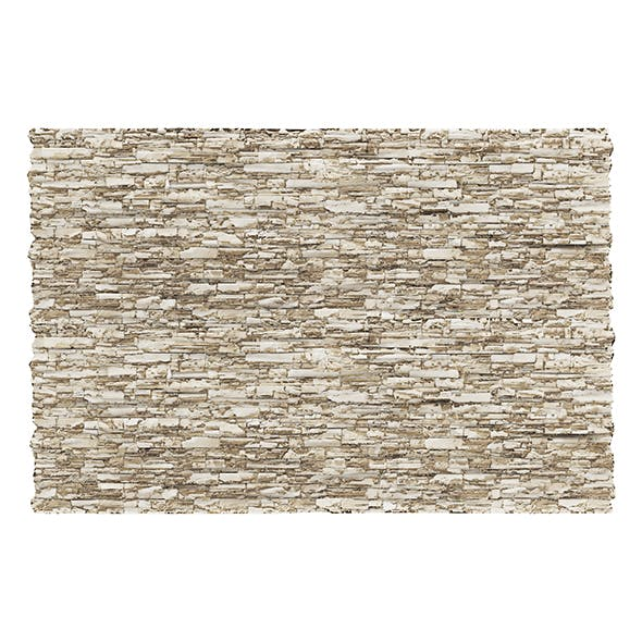 Stone Wall Panel 3D Model - 3DOcean Item for Sale