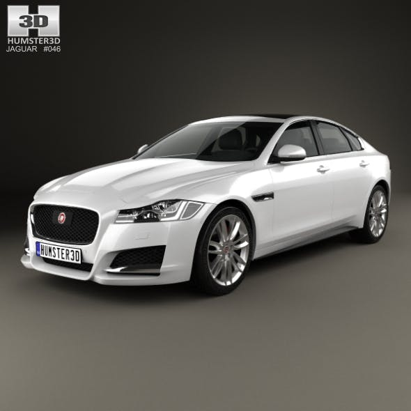 Jaguar XF 2016 - 3DOcean Item for Sale