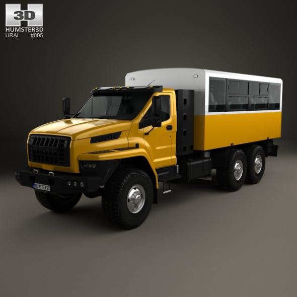 Ural Next Crew Truck 2016 - 3DOcean Item for Sale
