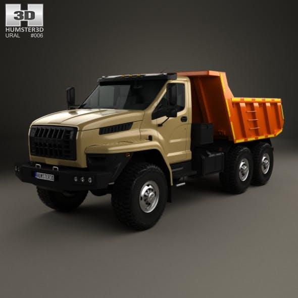 Ural Next Dumper Truck 2016 - 3DOcean Item for Sale