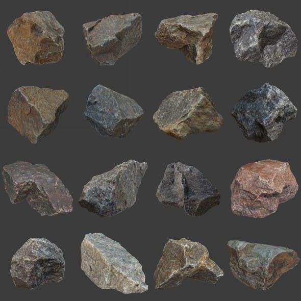 Stones Pack Volume 2 - 3DOcean Item for Sale