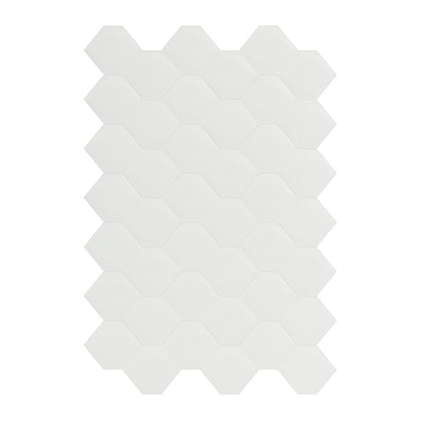 Hexagonal White Wall Panel 3D Model - 3DOcean Item for Sale